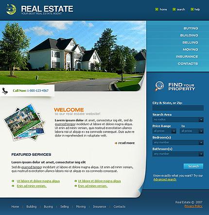 50+ High-Quality Free PSD Web Templates 23
