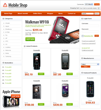50+ High-Quality Free PSD Web Templates 30