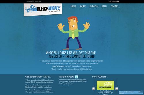 35+ Creative 404 Error Page Designs 12