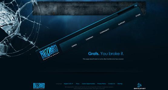35+ Creative 404 Error Page Designs 14