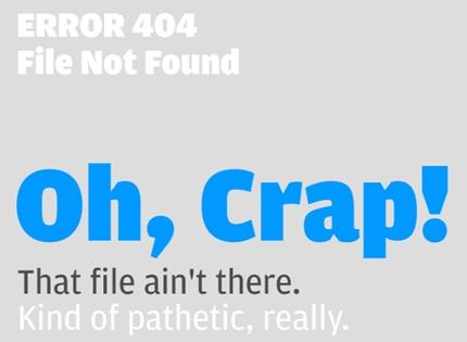 35+ Creative 404 Error Page Designs 20