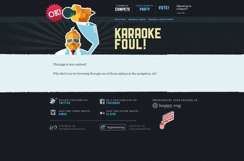 35+ Creative 404 Error Page Designs 4