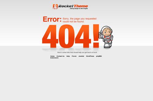 35+ Creative 404 Error Page Designs 5