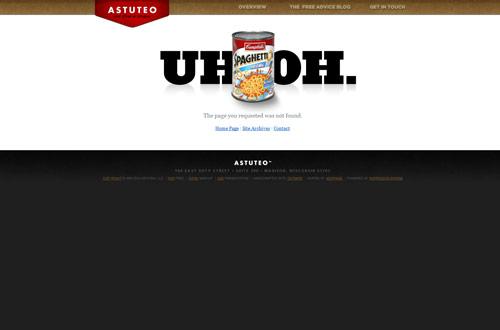 35+ Creative 404 Error Page Designs 8
