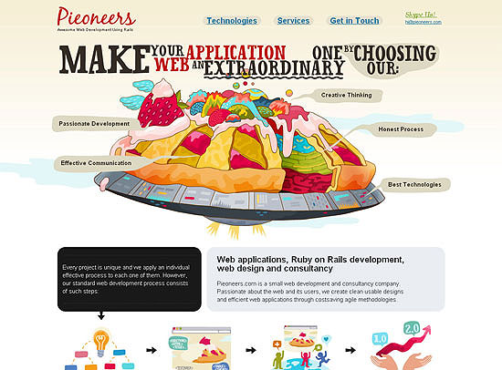 30+ Beautiful DIV/CSS Web Designs 13