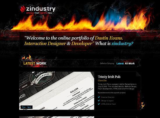 30+ Beautiful DIV/CSS Web Designs 4