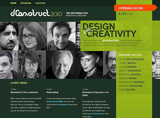 30+ Beautiful DIV/CSS Web Designs 6