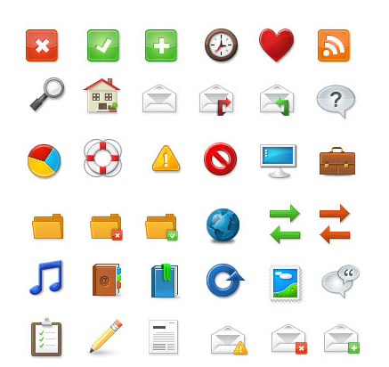22 Beautiful Free Icon Sets For Your Next Design 8