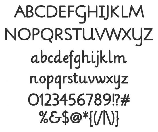 28 High Quality Fresh Free Fonts 11