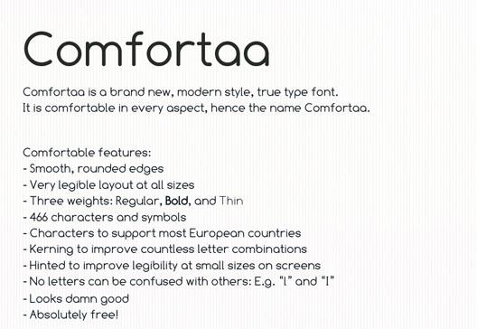 28 High Quality Fresh Free Fonts 5