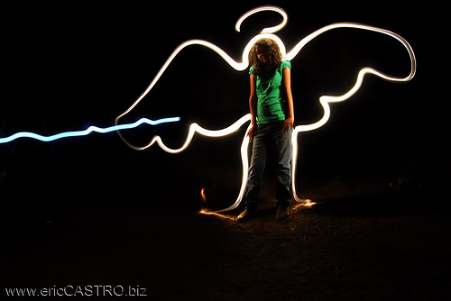 40+ Awesome Light Graffiti Pictures 11