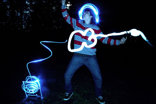 40+ Awesome Light Graffiti Pictures 3