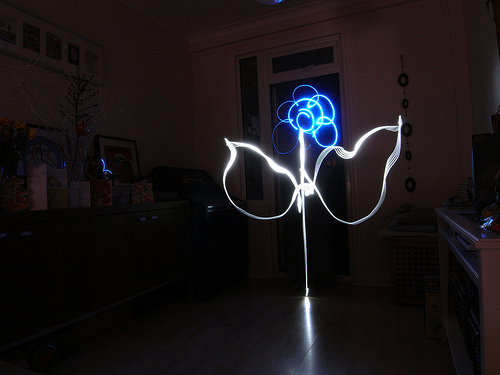 40+ Awesome Light Graffiti Pictures 7
