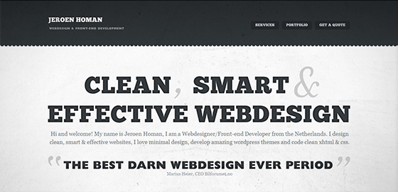50+ Beautiful Single Page Website Designs For Your Inspiration 5