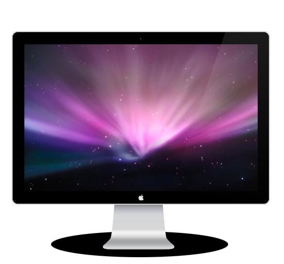 Create a Realistic Apple LED Cinema Display in Photoshop 19