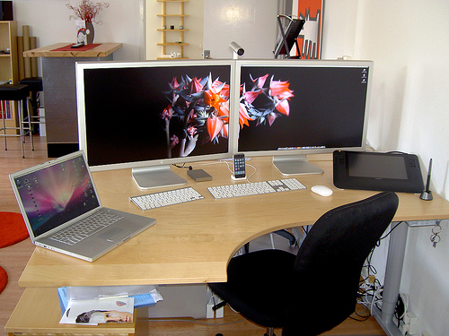 A Showcase of Beautiful Computer Workstations 22