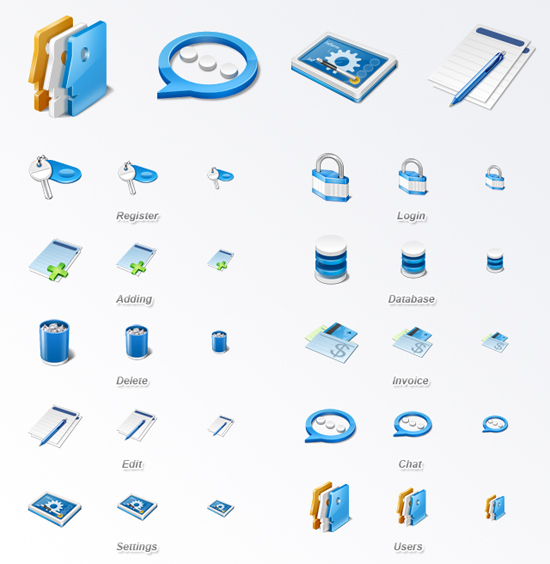 30 Fresh Free Icon Sets For Web Designers And Developers 8