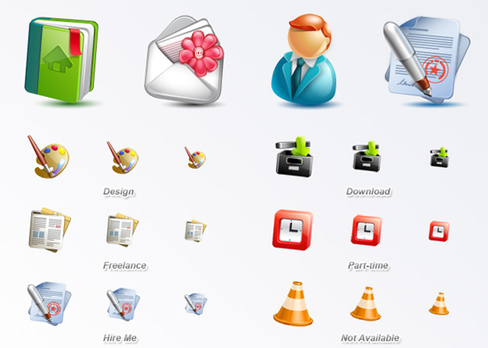 30 Fresh Free Icon Sets For Web Designers And Developers 7