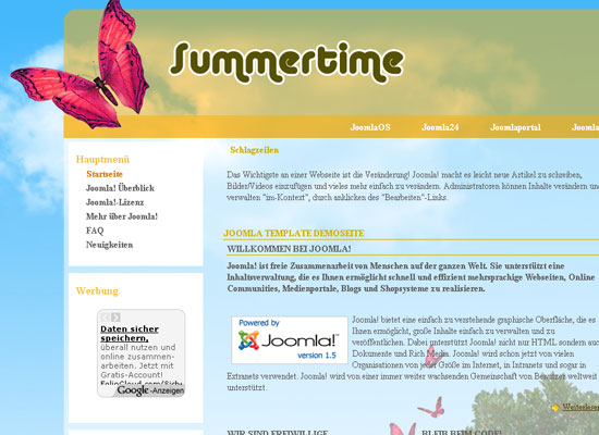 30 Free Joomla Website Themes Collection 22
