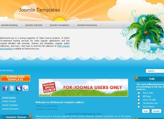 30 Free Joomla Website Themes Collection 5