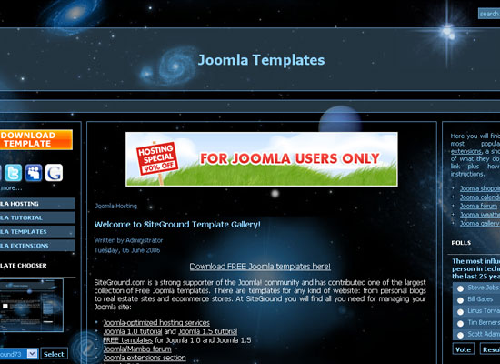 30 Free Joomla Website Themes Collection 6