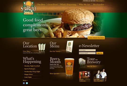 Showcase of Beautiful Restaurant Websites 16