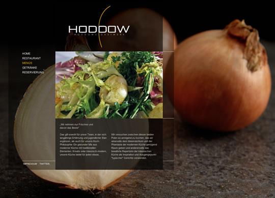 Showcase of Beautiful Restaurant Websites 22