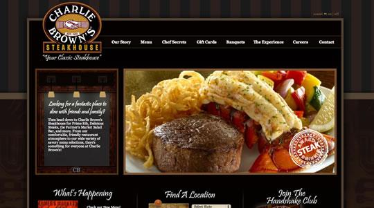 Showcase of Beautiful Restaurant Websites 36