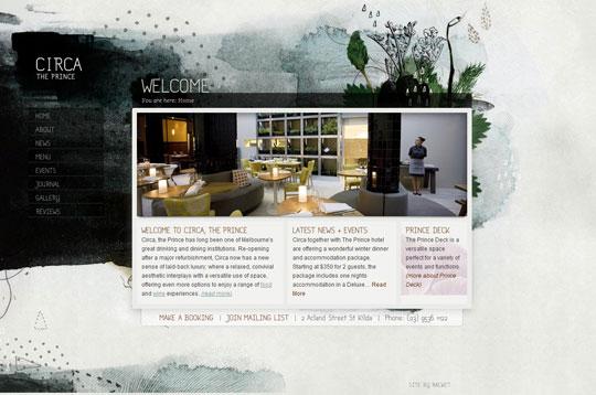 Showcase of Beautiful Restaurant Websites 44