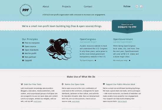 35 Beautiful DIV/CSS Web Designs For Your Inspiration 9