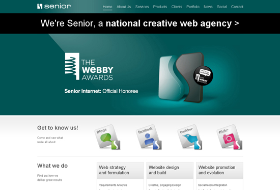 35 Beautiful DIV/CSS Web Designs For Your Inspiration 17