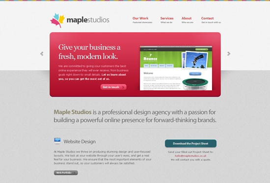 35 Beautiful DIV/CSS Web Designs For Your Inspiration 23