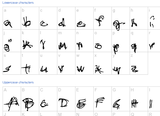 20+ Most Amazing Free Handwritten Fonts for Web designers 14