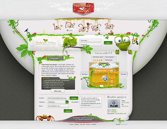 20 Beautiful Out of the Box Web Design Interfaces 18