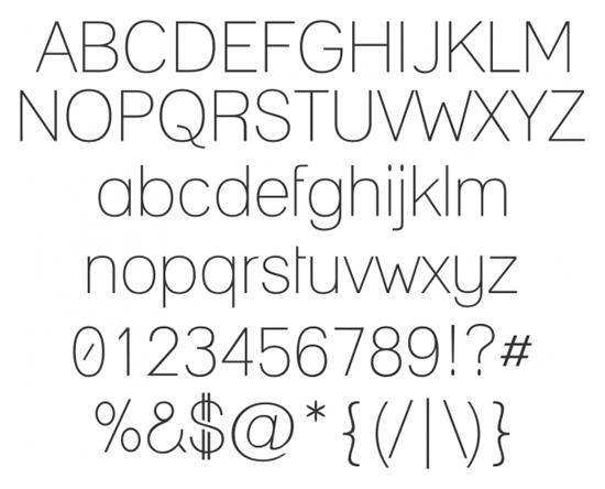 Free Sans Serif Fonts Ultimate Collection Part 1 13