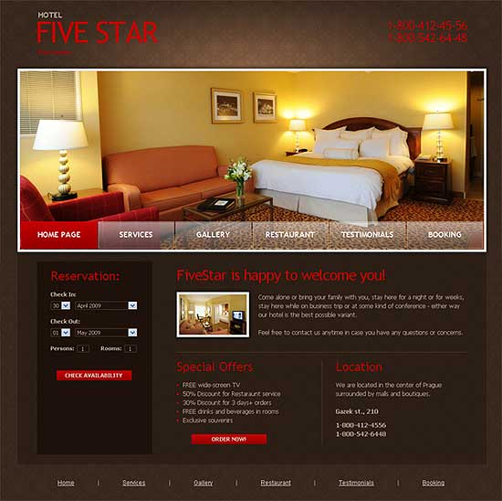 25 Fresh HTML/CSS Web Template for Free Download 5