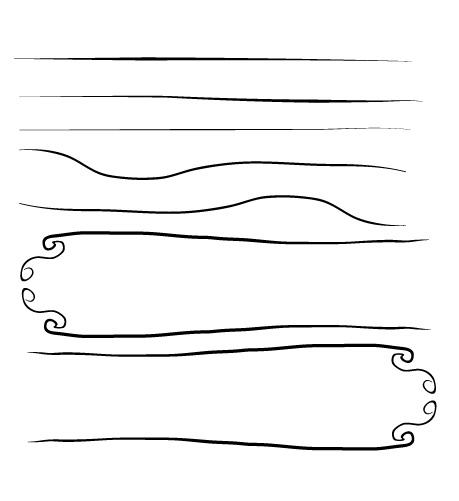 25 Excellent Sets of Free Adobe Illustrator Brushes 1