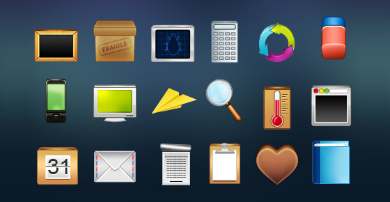 20 Beautiful Free Icon Sets for Designers 9