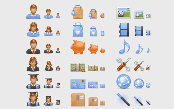 20 Beautiful Free Icon Sets for Designers 6