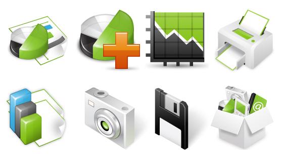 10 Beautiful Fresh Free Icon Set for Designers 1
