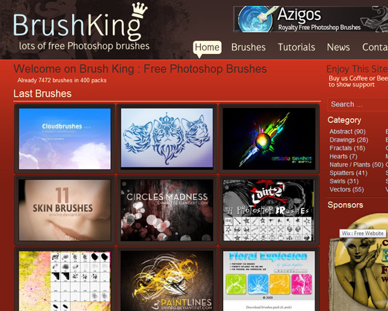 20 Amazing High Quality Photoshop Brush Directories for Designers 5