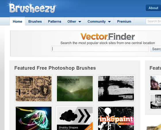 20 Amazing High Quality Photoshop Brush Directories for Designers 6