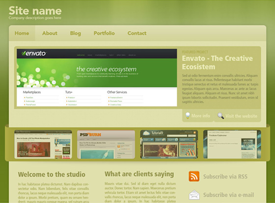 20 Most Useful Photoshop Tutorial to Create High Quality Web Design Layout 4
