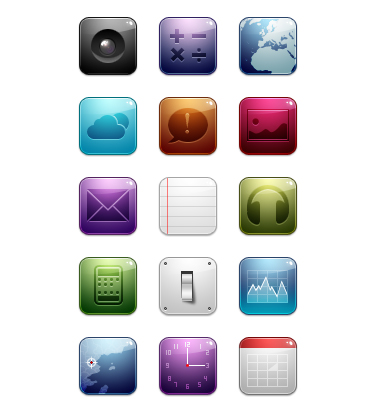 20 Free Amazing Icon Sets for Your iPhone 3