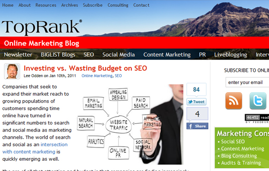 Top 10 Hand Picked SEO Blogs to Improve Your SEO Knowledge 5