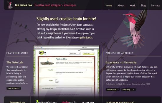 20 Awesome Web Blog Design for Inspiration 8