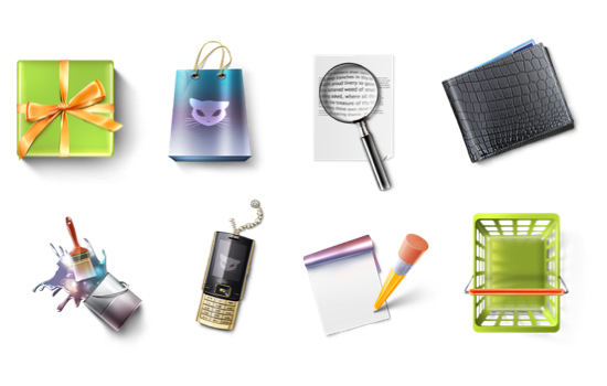 10 Most Useful and Beautiful Free Icon Set for Web Designers 6