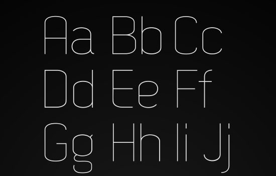 20 Free Fonts Suitable for Titles and Headlines 18