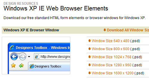 10 Free Useful Web UI Elements and Resources 5