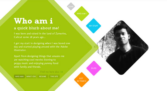 Experience About Us Pages of Some Highly Creative Designers Website 8